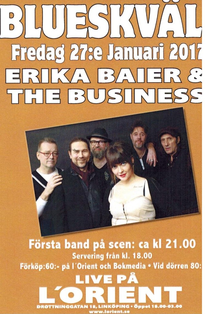 Erika Baier the Business 27jan17